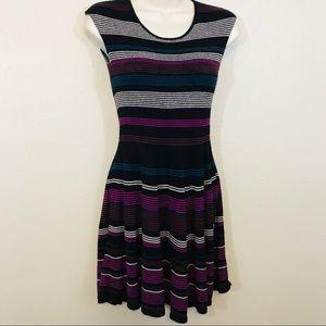 Ella Moss - Size 16 Dress with Stripes